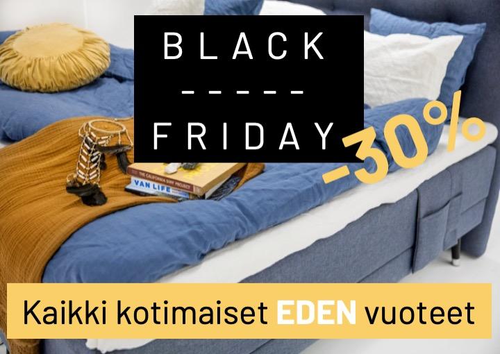BlackFriday sängyt -30%