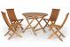 Turin pöytä + 4 tuolia