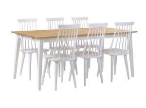 Filippa ruokapöytä + Lotta tuolit