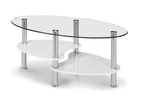 Oval sohvapöytä