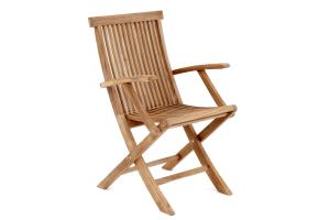 Turin tuoli käsinojilla