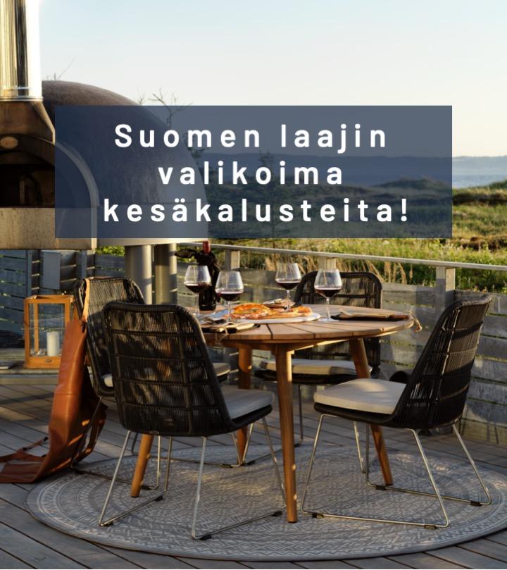 Suomen laajin valikoima kesäkalusteita