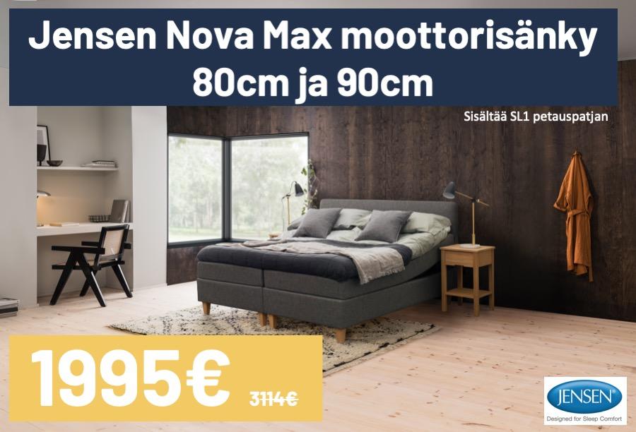 Jensen Nova moottorisänky tarjous