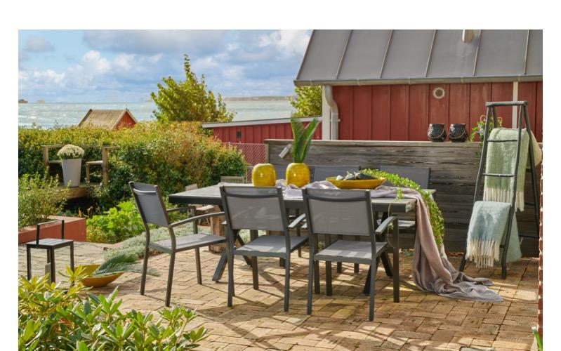 Puutarhakaluste ruokapöydät