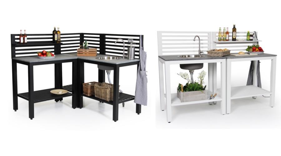 Bellac keittiö musta ja valkoinen